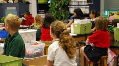小学六年级英语课堂游