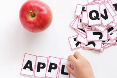 学龄前儿童英语学习方