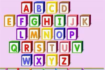 小儿英语26个字母怎么教学
