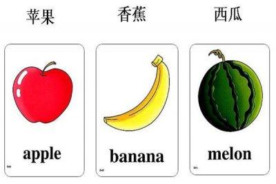 儿童学英语水果儿歌有